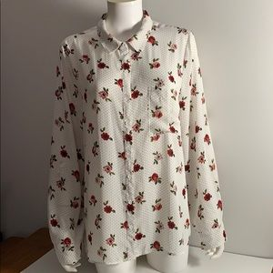 Floral Blouse from Reitmans